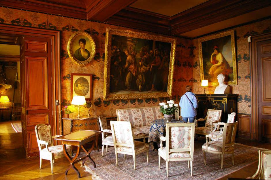 Chateau montresor 5 for Le petit salon de jimmy